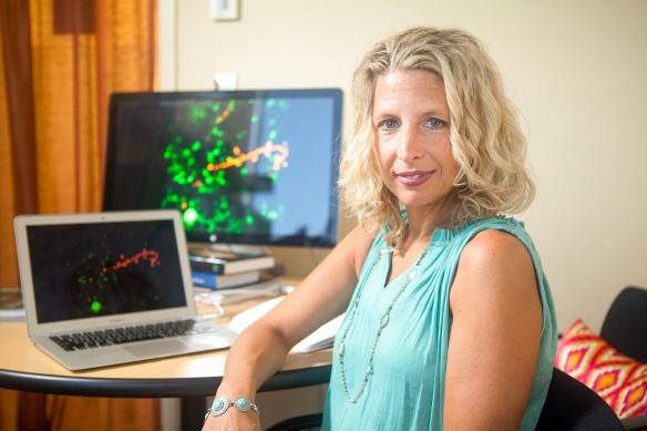 Beth Stevens, Assistant Professor of Neurology at Children's Hospital in Boston, Massachusetts, Friday, September 18, 2015. (John D. and Catherine T. MacArthur Foundation)